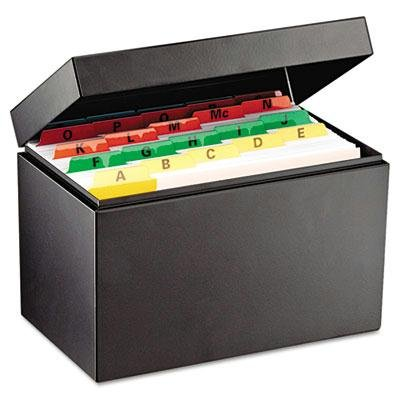 - Steelmaster - Index Card File Holds 625 5 X 8 Cards 8-9/16 X 5-3/16 X 5-7/8