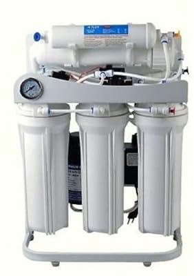 Light Commercial Reverse Osmosis Water Filter System 400 GPD 14 gallon tank pump