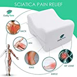 Knee Pillow for Side Sleepers - Sciatic Nerve Pain