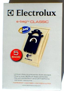 Geniune Electrolux S-Bag Classic Vacuum Bag, Case Pack of 20 Bags by Electrolux