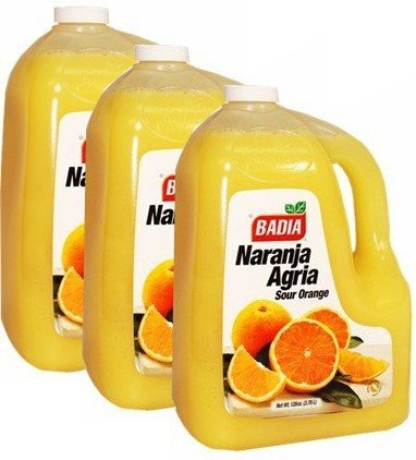 Badia Orange Bitter - Naranja Agria 128 oz Pack of 3