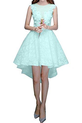 Linie Rock Minze Abendkleider lo Marie Cocktailkleider Spitze Hi A La Gruen Brautjungfernkleider Kurzes Damen Lilac Braut C6Hqq7AwxO