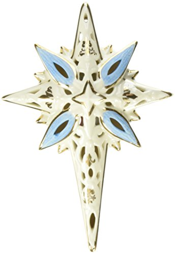 Lenox 853742 First Blessing Nativity Lighted Star Figurine (Large Lighted Nativity)