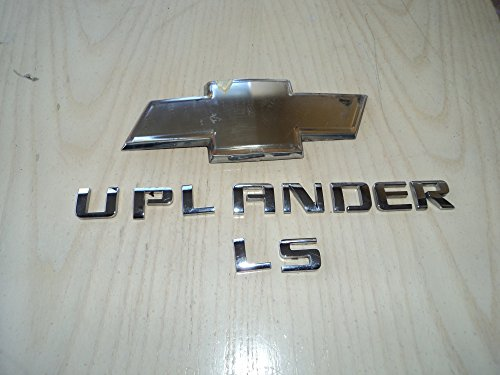 06 Chevy Uplander ls Rear Trunk Individual Lettering Chrome Nameplate Emblem Logo Script set of 3 (Chevy Emblem Uplander compare prices)