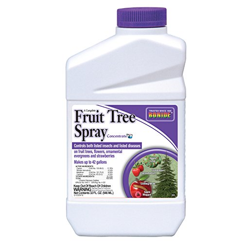 Bonide 203 Liquid Fruit Tree Spray for Insect Control, Quart