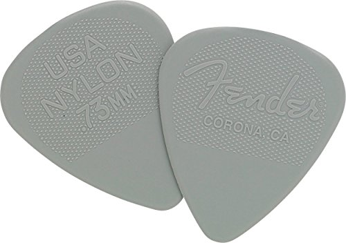 Fender Nylon Picks (12 Pack), Gray