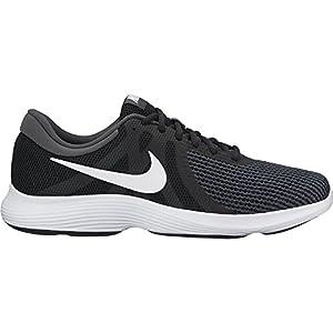 Nike Men's Revolution 4 Black/White Anthracite Running Shoe 8 Men US