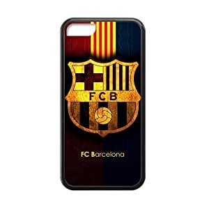 MMZ DIY PHONE CASESUNNYGOOD Favorite Soccer Team FC Barcelona Custom Cases for iphone 6 4.7 inch TPU (Laser Technology)