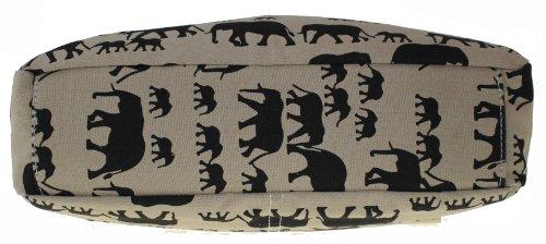 Beige Elephant Bag Crossbody Print in Ellie 6dxfqXRnd