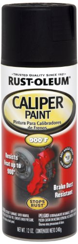 - Rust-Oleum 251592 Specialty Rust Preventive Caliper Spray Paint, 12 Oz Aerosol Can, 12-Ounce, Black