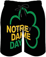 Notre Dame Day Mens Beach Pants Shorts Hot Pant Swimming Short for Ourtdoor