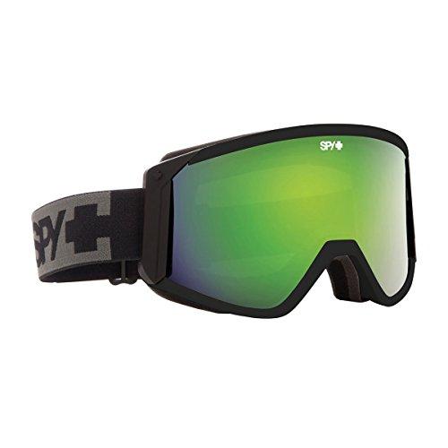Spy Raider Masque de ski vert - Black/Bronze/Green