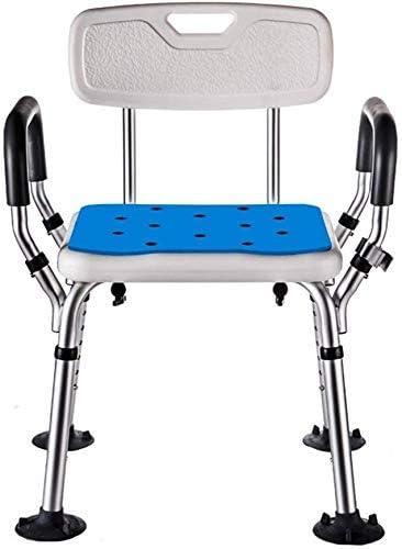 No logo TIN-YAEN Badezimmer Rollstühle, Bad Stuhl, höhenverstellbar Badezimmer Sitz Tragbare Dusche Bench geeignet...