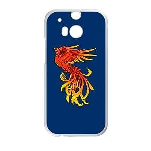 HTC One M8 Cell Phone Case White Phoenix scvv