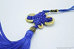 Oriental Chinese Hand Made Mystic Knots Tassels Hanging Charm Feng Shui Protection Protection