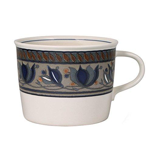 Flow Blue Soup Bowl - Mikasa Arabella Jumbo Soup Mug, 24-Ounce