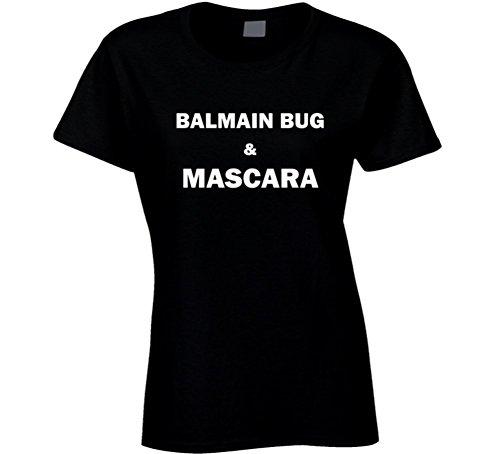 Balmain Bug & Mascara Fun Essential Food Lover Gift T Shirt S - Women Balmain