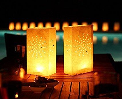 Candle Luminaries Bags - 7