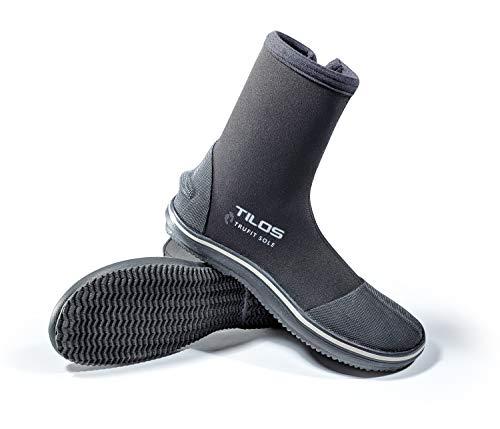 Tilos TruFit Dive Boots, First Truly Ergonomic Scuba Booties, Available in 3mm Short, 3mm Titanium, 5mm Titanium, 5mm Thermowall, 7mm Titanium