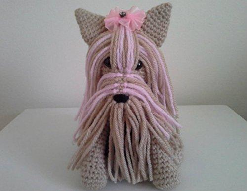 Miniature Yorkshire Terrier - Crochet Dog - Micro Amigurumi ... | 387x500
