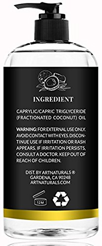 Artnaturals Artnaturals Fractionated Coconut Oil 16 Oz, 16 Fluid Ounce