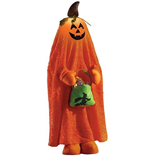 Lighted Halloween Character Decorations, Pumpkin ()