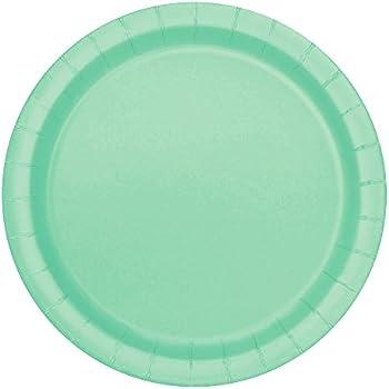 Mint Paper Cake Plates 20ct  sc 1 st  Amazon.com & Amazon.com: Mint Paper Cake Plates 20ct: Kitchen \u0026 Dining