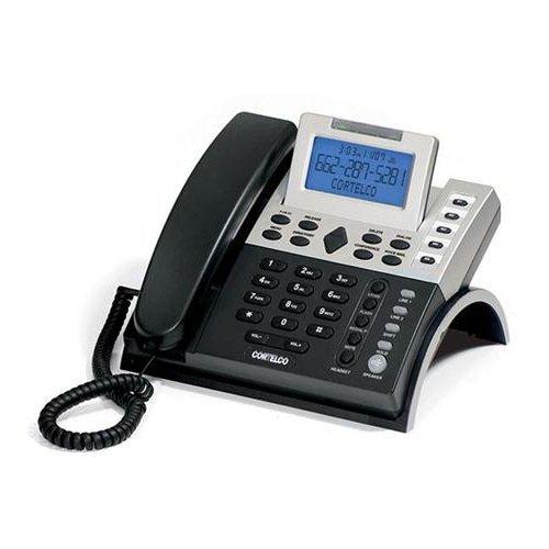 (CORTELCO 122000TP227S 2-Line CID Business Tel. / ITT-1220 /)