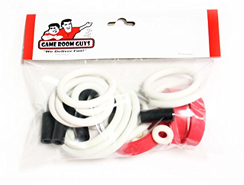 Game Room Guys Bally NBA Fastbreak Pinball White Rubber Ring Kit by Game Room Guys