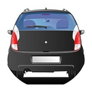 alfombrilla de ratón coche negro - ronda - 20cm