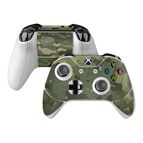 SOFLETE Tropical Multicam Skin Decal Compatible with Microsoft Xbox One and One S Controller - Full Cover Wrap for Extra Grip and Protection from DecalGirl