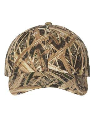 Kati - Structured Mid-Profile Mossy Oak Camouflage Cap - MO09-MO18 - Adjustable - Mossy Oak Shadow Grass Blades