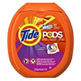 Tide PODS Spring Meadow HE Turbo Laundry Detergent Pacs 81-load Tub - Pack of 3