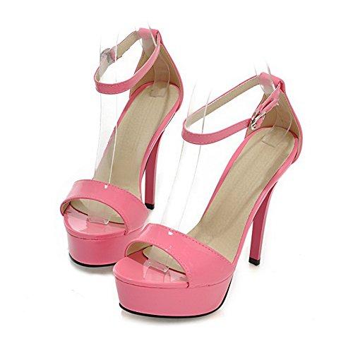 1TO9 - Sandalias de vestir para mujer Rosa