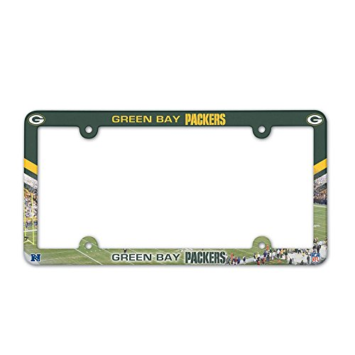 WinCraft NFL Green Bay Packers LIC Plate Frame Full