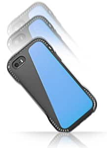 ArmorBear® Shock Series iPhone 5 / 5S Impact Absorber Cushion Defender Protection Case with Credit Card Storage - Blue