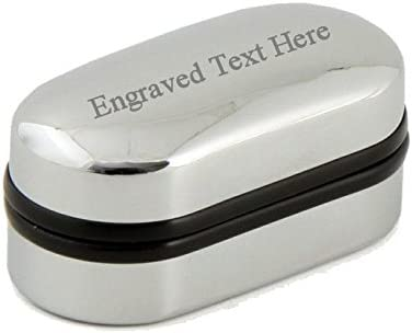 Select Gifts Crossed Daggers Engraved Keepsake Message Box