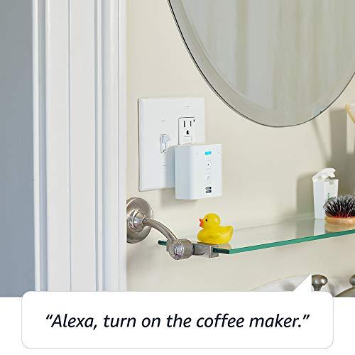 Echo Flex - Plug-in mini smart speaker with Alexa bundle with Sengled Wi-Fi Smart bulb