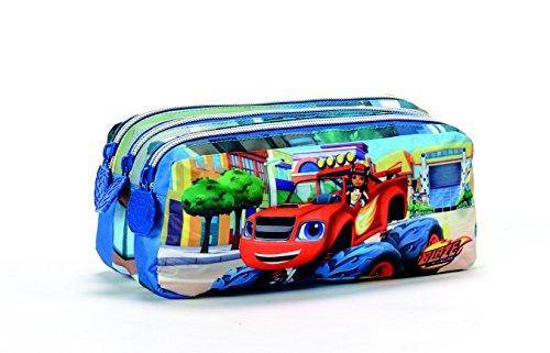 Coriex GO FOR IT Blaze Tasche 3 Reißverschluss Kinder-Sporttasche N95297 MC, 21 cm, Multicolor