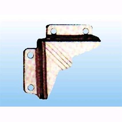 Angoli per fissaggio specchi 4 pezzi