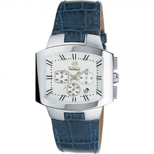 Breil Reloj analogico para Hombre de Cuarzo con Correa en Piel 2519740846: Amazon.es: Relojes
