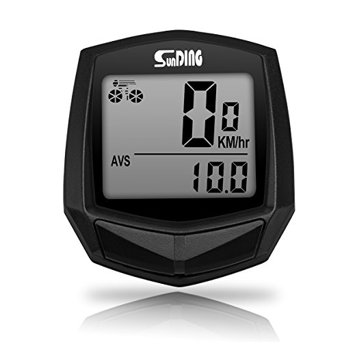 OUTERDO Bike Computer Bicycle speedometer IPX4 Waterproof Cycling Odometer for Exact Data Tracking