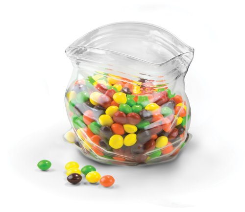 Fred & Friends UNZIPPED Hand-Blown Glass Bowl