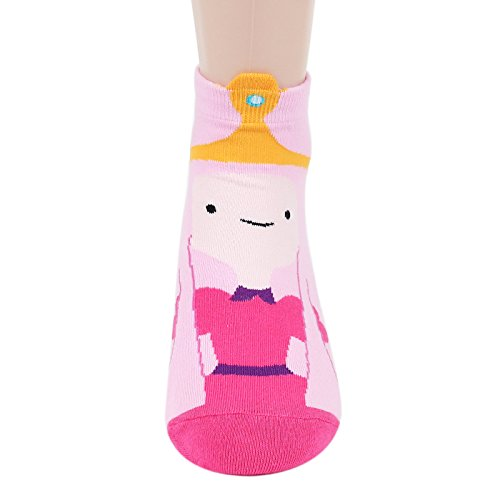 Socksense Animation Character Disney Series Women's Original Socks (Adventure Time(Full)_4pairs) by Kiss socks (Image #4)