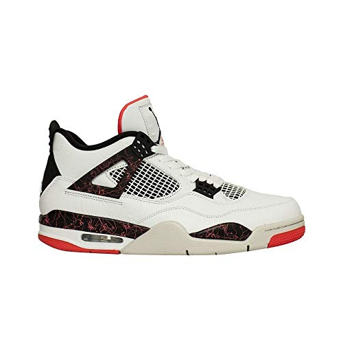 Nike Air Jordan 4 Retro Mens Hi Top Basketball Trainers 308497 116 (Jordans Mens Retro 12)