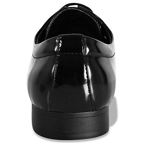 Festnight- Chaussures pour Hommes Noir oJZAPusBB