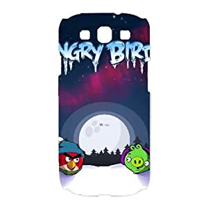 Samsung Galaxy S3 I9300 Cover Cell phone Case Okttu Angry Birds Plastic Durable Cases