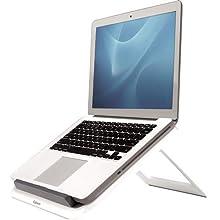 Fellowes I-Spire Series - Soporte Elevador Ajustable para portátil, Ajustable a 7 ángulos, Color Blanco