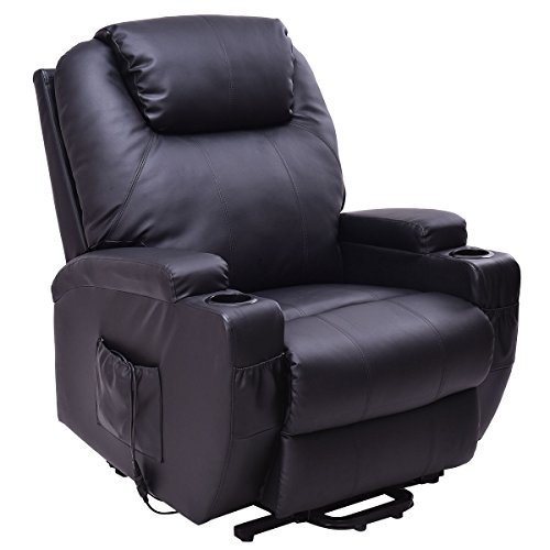 COLIBROX--Lift Chair Electric Power Recliner w/Remote and Cup Holder Living Room Furniture. by COLIBROX (Image #1)