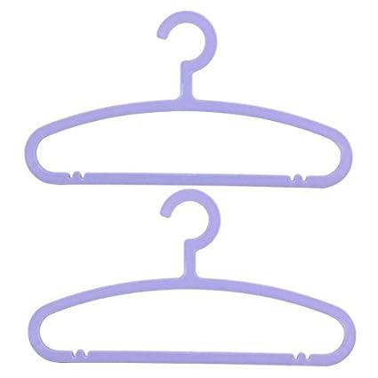 eDealMax plástico antideslizante Armario ropa de la capa de toalla que cuelga estante de la suspensión